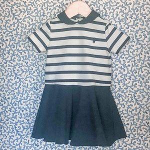 Ralph Lauren Navy White Striped Dress Bloomers